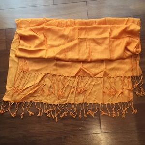 H&M Orange shawl
